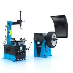 Bandwisselaar en balanceermachine (RP-U200PN-400V1S en RP-U100PN) zijn verkrijgbaar in de set