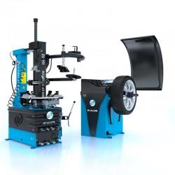 Bandwisselaar + hulparm en balanceermachine (RP-U221PN-400V2S+HA90 und RP-U120PN) zijn verkrijgbaar in de set