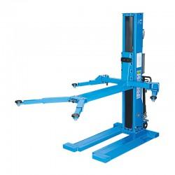 1 kolom hydraulische hefbrug 2,5 Ton - 230V - 2,60m