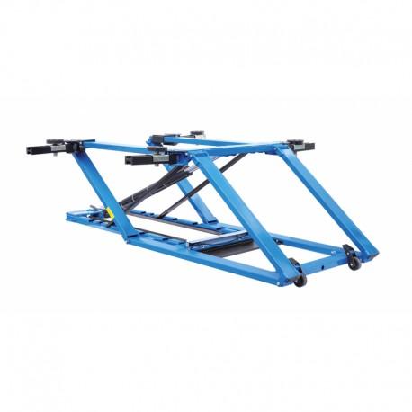 Schaar hefbruggen mobiele, hydraulische van AIR 2.5 ton Lengte: 1,02m - Motor Made In Italy