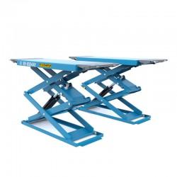 Schaarhefbrug hydraulisch van 3,0 ton 400V Lengte: 1.90m