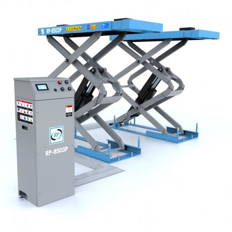 Schaarhefbrug hydraulisch 3,0 ton 230V Lengte: 2.03m