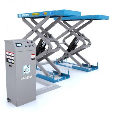 Schaarhefbrug hydraulisch 3,5 ton 230V / 400V Lengte: 2.23m