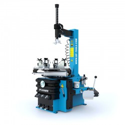 Halfautomatische de- en monteermachine, draaibare arm, motorfiets adapter, 230V (1 fase)